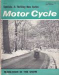 Motor Cycle - Motorcycle Magazine - 17th January 1963 - M2466